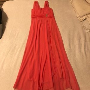 Long dress brand new medium stretch to large